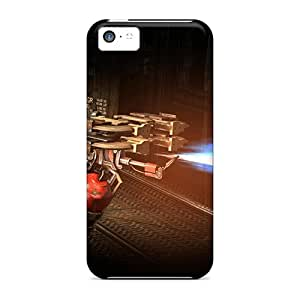 Top Quality Cases Covers For Iphone 5c Cases With Nice Dead Space 3 Blowtorch Appearance