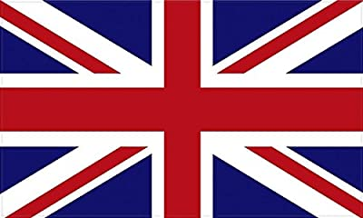 "MAGNET 4"" Flag of the United Kingdom British MAGNETIC Sticker Die Cut Decal UK Royal Union Jack"