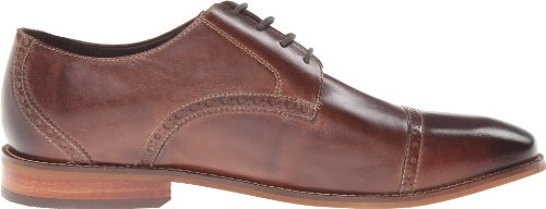 Flors Mens Castellano Cap Toe Oxford Brun