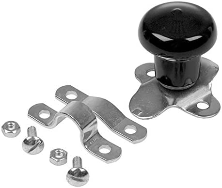 Stainless Steel Chrome Spinner Steering Wheel Knob Fits Universal Boat Tractor