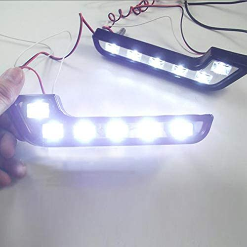 12 luces de conducci/ón para Mercedes Semoic 2 luces de conducci/ón diurna para coche tipo L