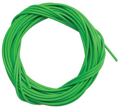 Sunlite Lined Brake Cable Housing, 5mm x 50ft, Green