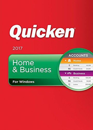 : Quicken Home & Business 2017 for Windows Personal Finance & Budgeting Software