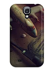9391473K58435230 Slim Fit Tpu Protector Shock Absorbent Bumper Other Case For Galaxy S4