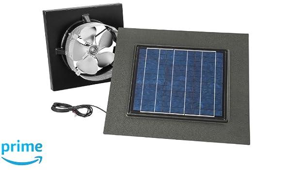 28-Watt Broan 345SOWW Surface Mount Solar Powered Attic Ventilator Weathered Wood