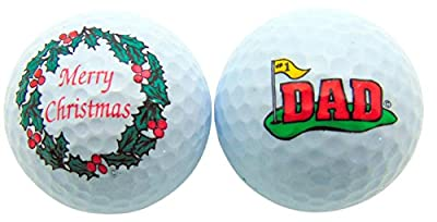 Westman Works Merry Christmas Dad Golf Ball Gift Set