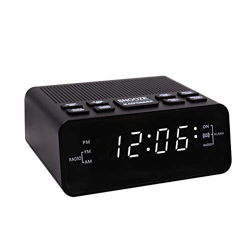SUCHMIX Alarm Clock Radio, FM/AM...