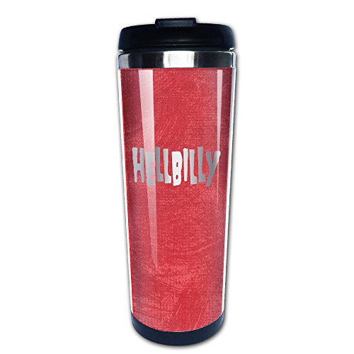 [Hellbilly Redneck Platinum Style Travel Tumbler] (Redneck Costume Ideas)