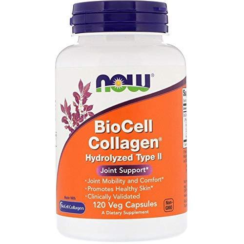 Now Foods, BioCell Collagen, Hydrolyzed Type II, 120 Veg ()