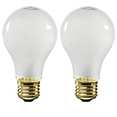 Bulbrite 25A19F/12 25Watt A19 Frost 12 Volt Incandescent Bulbs