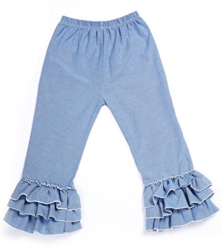 Messy Code Ruffle Toddlers Leggings product image