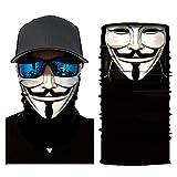 Wigoo 3D Seamless Bandana UV Protection Riding Face Mask