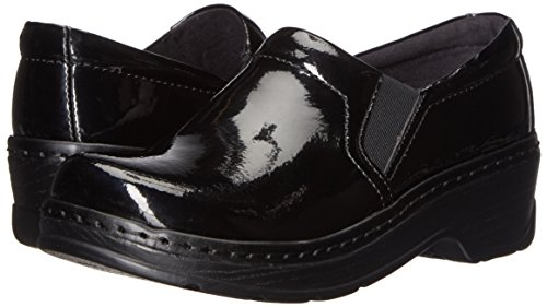 Klogs USA Women's Naples Mule, Black Patent, 8 W US