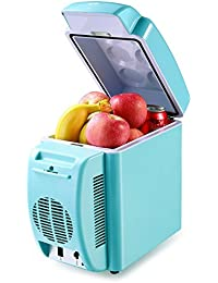 Housmile Thermo - Electric Cooler and Warmer Car Refrigerator Portable Mini Fridge AC & DC, 7 Liter/12 Can