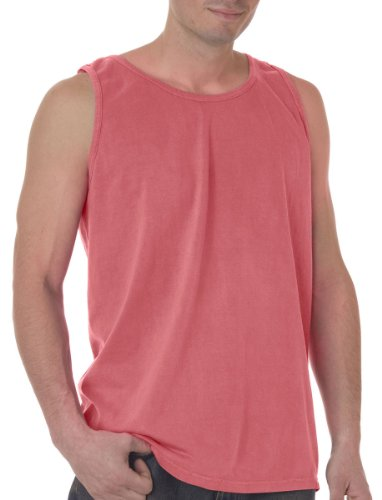 Chouinard Tank Top 9360 Plain Unisex M Watermelon (Ringspun Sleeveless T-shirt)