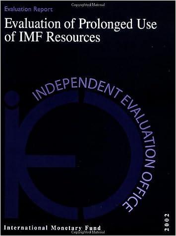 Los mejores ebooks gratuitos descargadosEvaluation of Prolonged Use of Imf Resources 1589062051 PDF iBook PDB