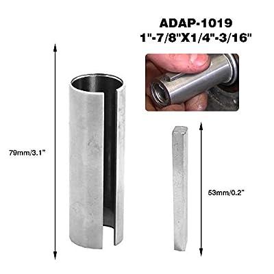 "MODIFY-GT 7/8"" to 1"" inch w/Step Key Gas Engine Pulley Crank Shaft Sleeve Adapter Predator: Garden & Outdoor"