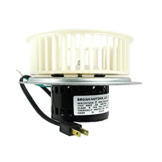 nutone 0696b000 motor assembly for qt100 and qt110 series fans - Bathroom Fan Motor Replacement