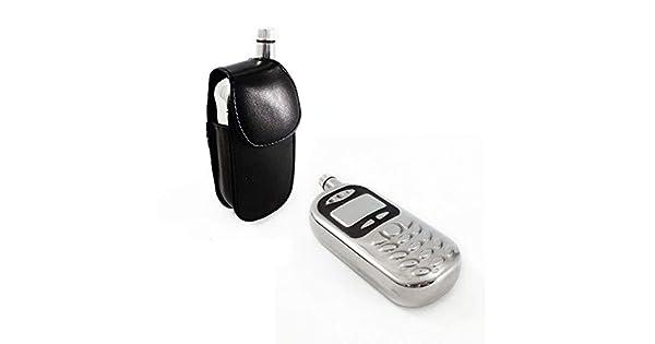 Amazon.com: Teléfono celular Flask w/funda para cinturón ...