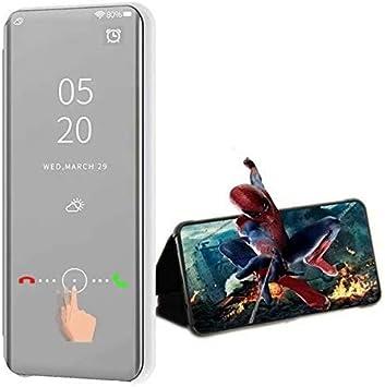Compatible para Xiaomi Redmi 7A Smartphone Funda(Plata)+3D Vidrio ...
