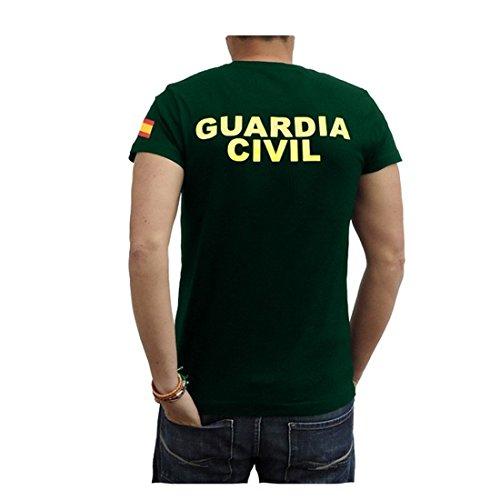 Piel Cabrera Camiseta Guardia Civil 3