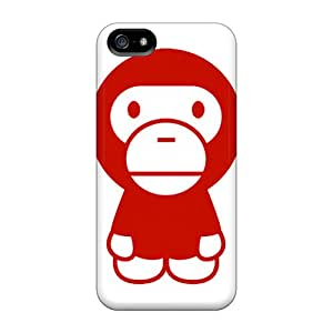 Premium IJNOS6994NJEIf Case With Scratch-resistant/ Bape Baby Milos Case Cover For Iphone 5/5s