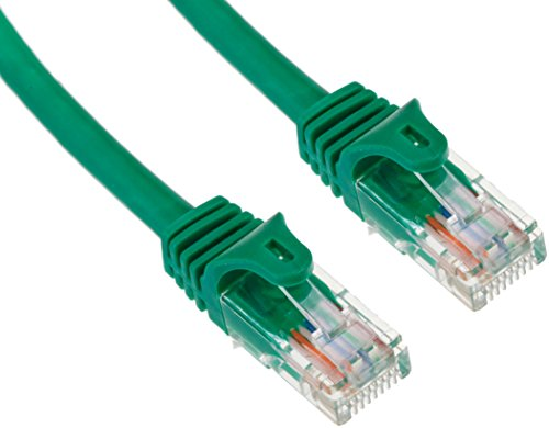 StarTech.com Cat5e Ethernet Cable - 5 ft - Green- Patch Cable - Snagless Cat5e Cable - Short Network Cable - Ethernet Cord - Cat 5e Cable - 5ft (45PATCH5GN) ()