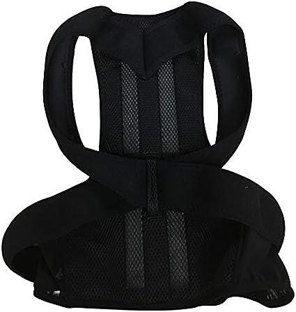 Kuyoly Corrección jorobada de espalda de la columna vertebral ortesis escoliosis soporte lumbar espinal curvada ortesis fijación para la postura