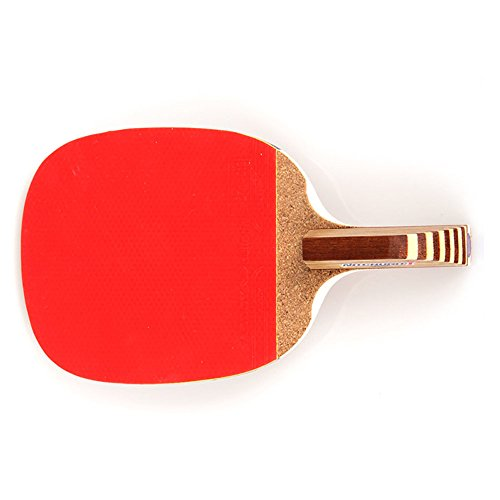 Butterfly NITCHUGO Table Tennis Racket Paddle (Penhold Hand Grip) + 2balls together