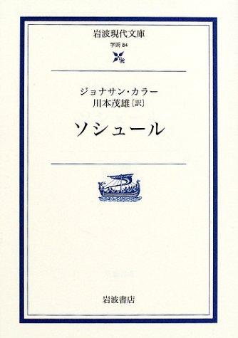 ソシュール (岩波現代文庫)