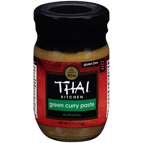 Thai Kitchen Gluten Free Green Curry Paste, 4 (Thai Green Curry Sauce)