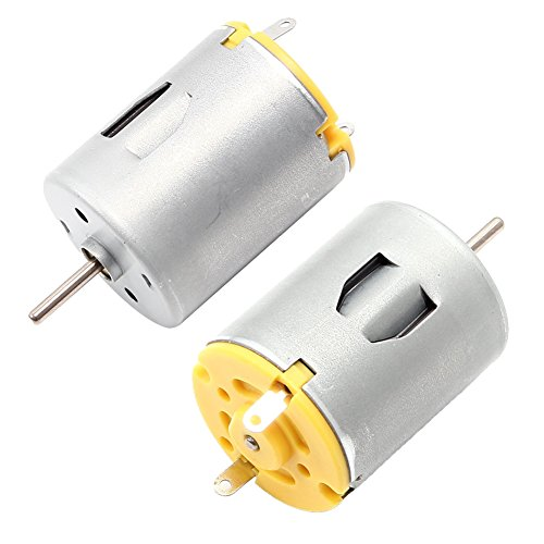Icstation DC 12V 16000RPM Mini Permanent Magnet Brushed DC Electric