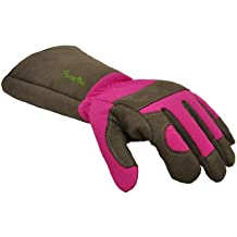 Long gardening gloves for women for Gardening gloves amazon
