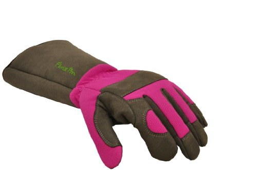 G & F 2430M Florist Pro Long Sleeve Rose gardening Gloves, Thorn Resistant Garden Gloves, Rose Pruning Gloves - Women's Medium