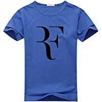 fan products of MccoyCot Roger Federer Tennis Player Men's Short Sleeve T-Shirt