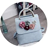 Best EcoCity Backpack For Hikings - JITALFASH Women Flower Small Backpack PU Leather Backpacks Review