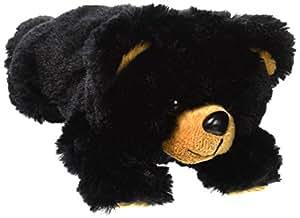 "Purr-Fection Baby Smoky Black Bear 12"" Plush"
