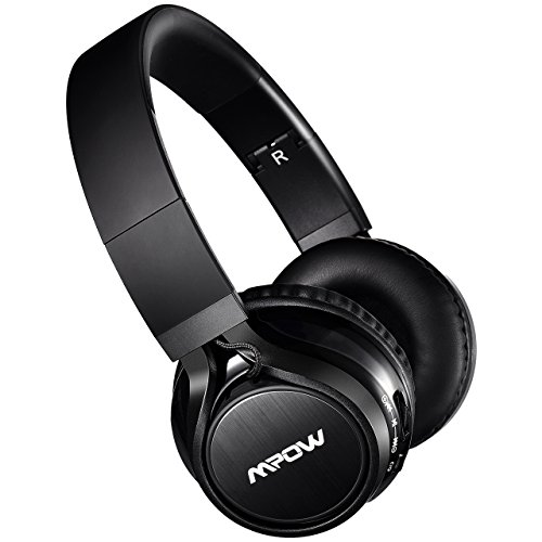 Mpow Thor Bluetooth Headphones Over Ear Wireless Headset Foldable with Mic and Wired Mode for TV/ Cell Phone/ PC