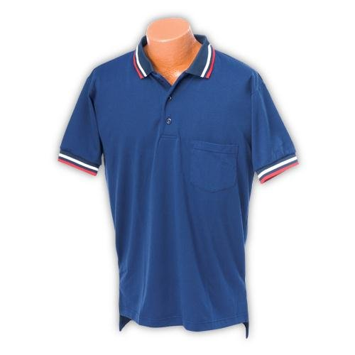 Athletic Connection XXL Pro Softball/Baseball Umpire Shirt in Navy Blue by Athletic Connection