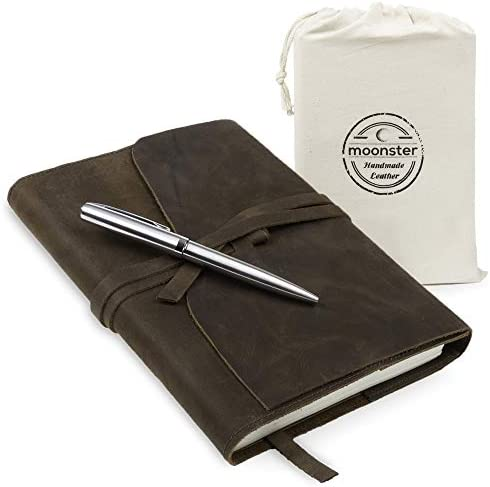 Refillable Leather Journal Gift Set product image