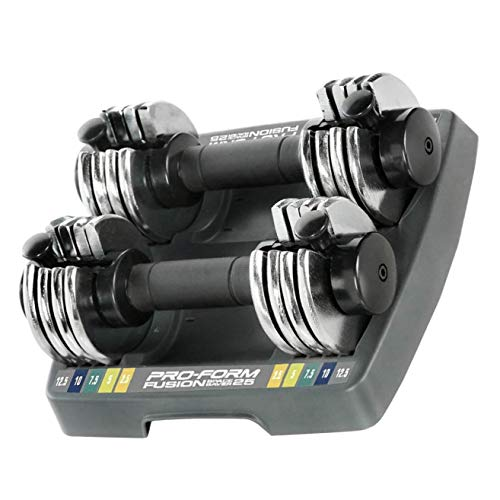 ProForm SpaceSaver Dumbbell (25 Double)