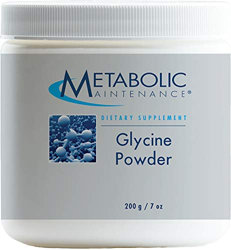 Metabolic Maintenance – Glycine Powder – Support for The Liver + Restful Sleep, 400 Servings, 200 Grams