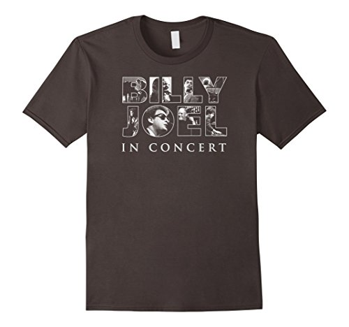 Mens Billy Joel - In Concert T-Shirt XL Asphalt