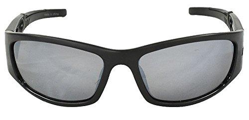Columbia- Unisex CBC200 Polarized Sunglasses Black/Brown Mirror