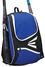 EASTON E50BP Bat & Equipment Backpack Bag | Baseball Softball | 2020 | Royal | 2 Bat Sleeves | Large Gear Compartment | Zippered Valuables Pocket | Fence Hook for Dugout Functionality