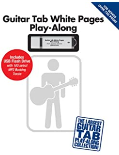 Acoustic Guitar Tab White Pages: Amazon co uk: Various: Books