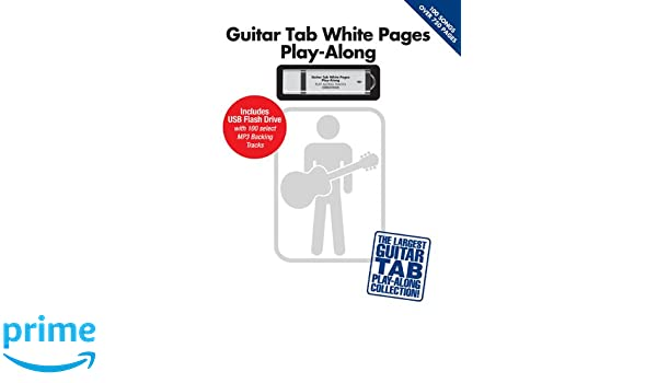 Guitar Tab White Pages Play-Along With USB Flash Drive: Amazon.es: Hal Leonard Publishing Corporation: Libros en idiomas extranjeros