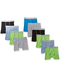 Boys' Tagless Assorted Color Boxer Brief