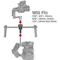 Universal DJI Ronin Armpost Adaptor for Tiffen/Steadycam G40, G50, G60 G70, Scout, Zephyr; Glidecam X-10, X-20, X-30, X-45, Gold; GPI Pro Atlas, Titan; ActionCam