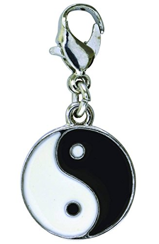 Ying Yang Enamel Dangle